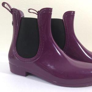 Chealsea Purple Rain Ankle Boots Nicole Miller NY